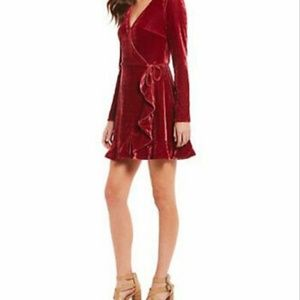 The Jetset Diaries velvet dress